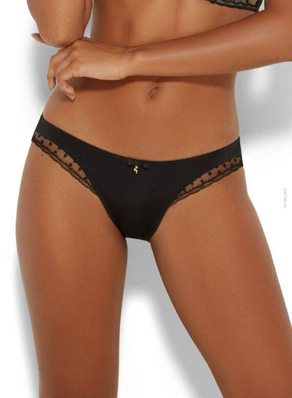 GOSSARD SCARLETT BRIEF BLACK M