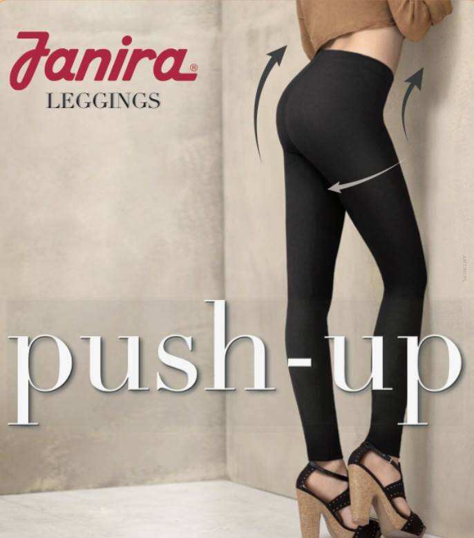 JANIRA: LEGGINGSY PUSH UP NEGRO
