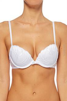 SIMONE PERELE BIUSTONOSZ INSOLENCE PUSH UP BRA WHITE
