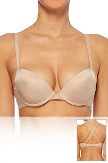 SIMONE PERELE BIUSTONOSZ EPURE MOULDED PUSH UP BRA MULTI WAY NUDE