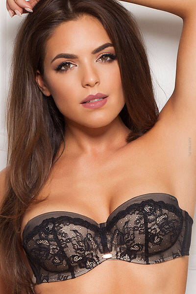 GOSSARD BIUSTONOSZ STRAPLESS SUPERSMOOTH MULTIWAY BRA